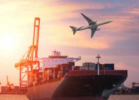 Embarques marítimos y aéreos